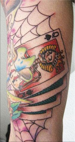 spades tattoo